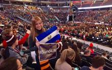 "Salvadoreña participa en ""Youth Rally""en Washington"